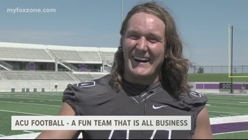 Abilene Christian University football knows the difference between work and pleasure