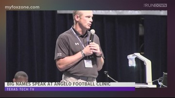 Texas Tech Football Head Coach likes what he sees in West Texas