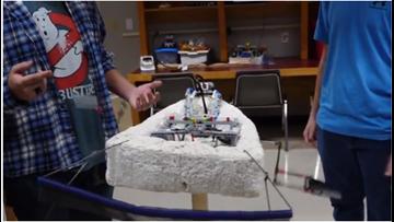Merkel High School robotics club is going to state