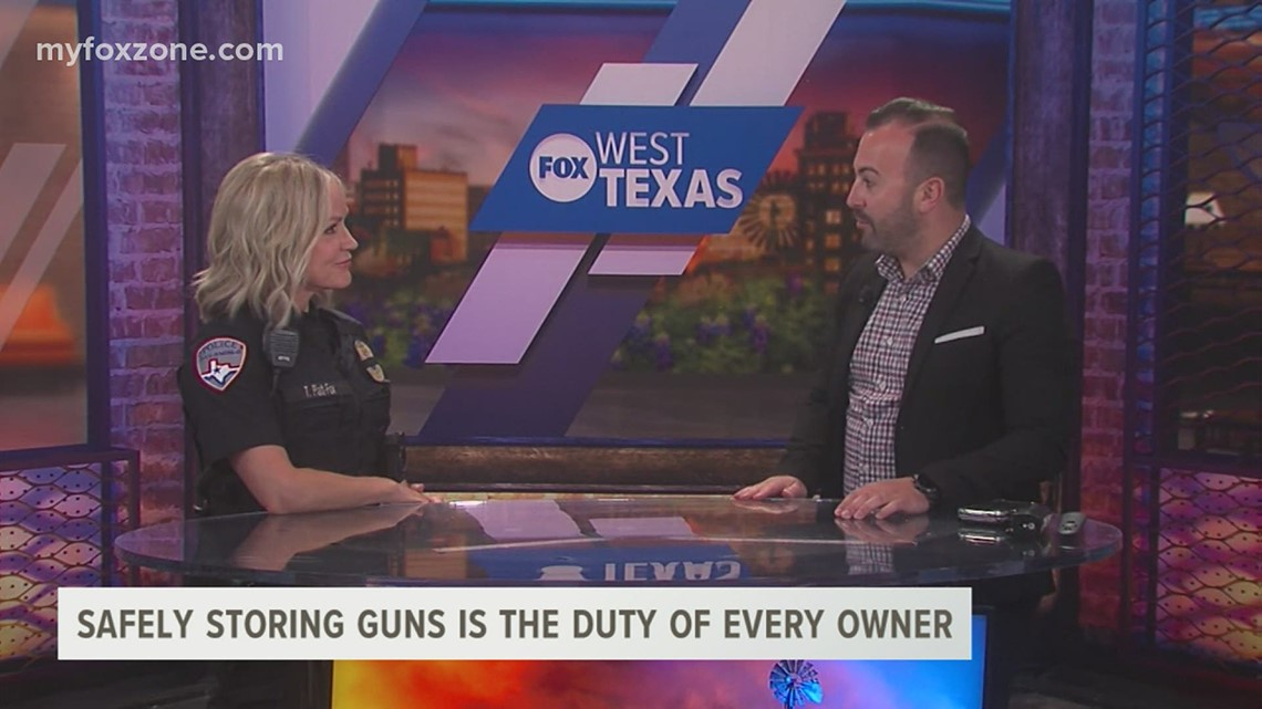 San Angelo Police Department continues to see a high number of stolen unsecured firearms