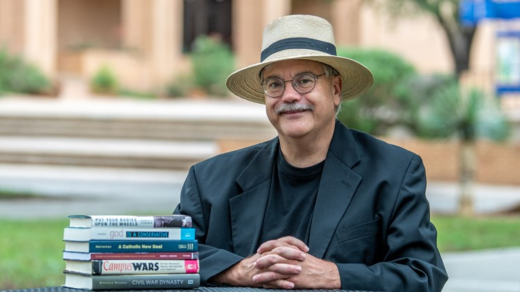 Angelo State professor publishes new book about Ronald Reagan