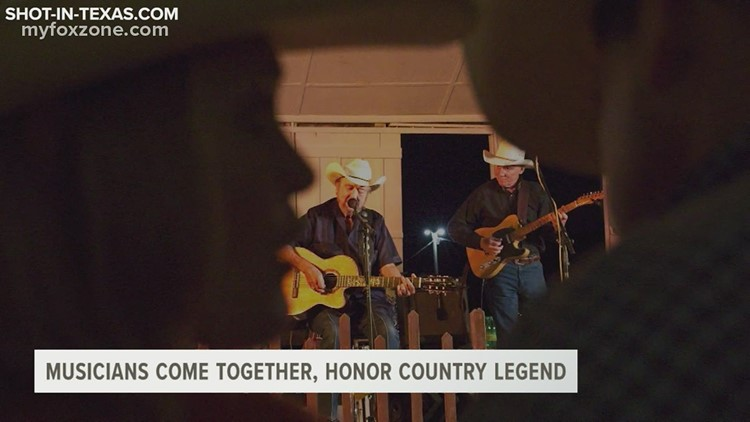 Former band members pay tribute to Texas country legend Johnny Bush at Heart of Texas Country Music Festival