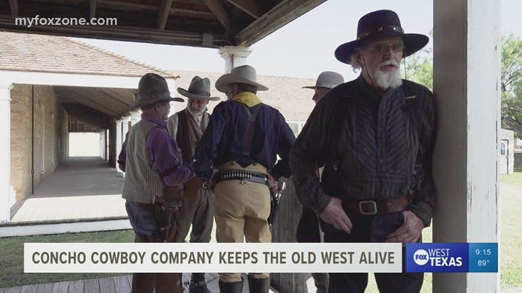 Concho Cowboy Company's act brings western stories to life
