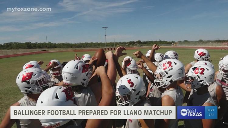 Ballinger Bearcats prepared to take on the Llano Yellow Jackets Friday night