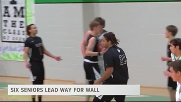 Six Seniors Lead Way For Wall