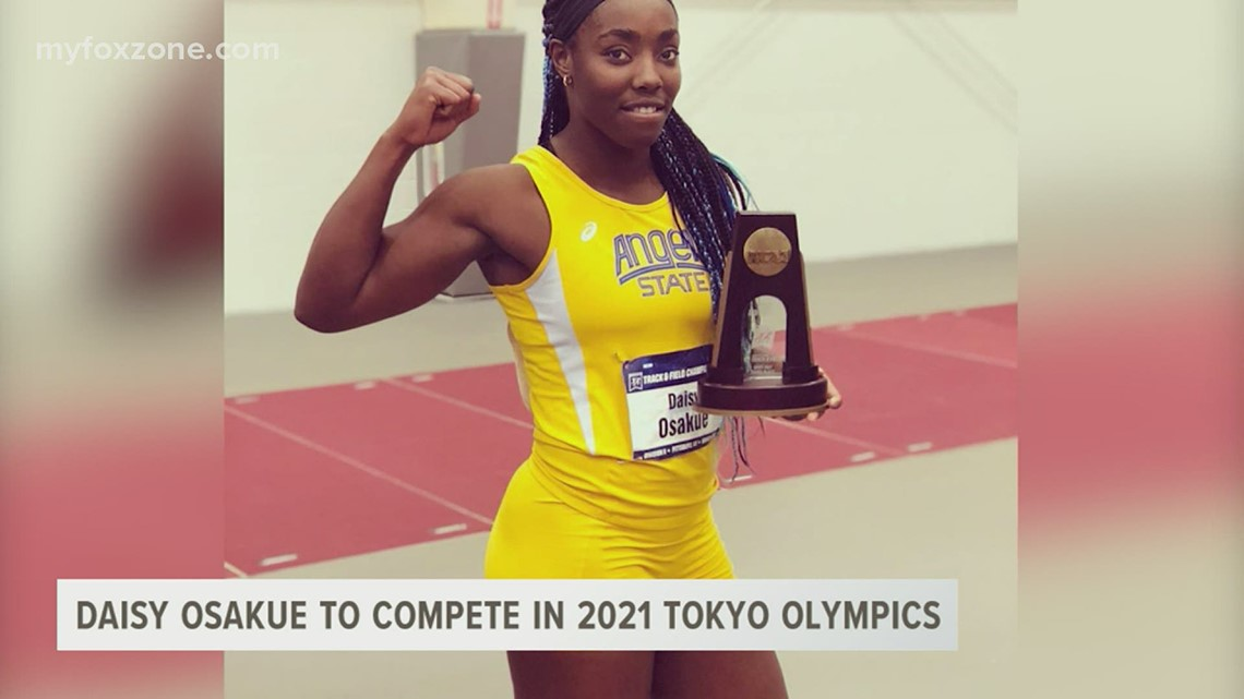 Former Angelo State athlete Daisy Osakue qualifies for 2021 Tokyo Olympics