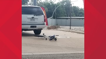 Seven-year-old boy riding bike suffers incapacitating injuries after being struck by SUV