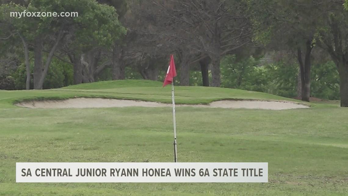 SA Central lady golfer Ryann Honea wins UIL 6A state title