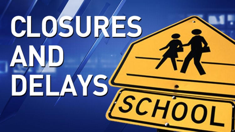 Weather-related updates, closures for Monday, Feb. 22