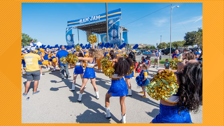 Ram Jam and fireworks show planned for Angelo State game day Saturday