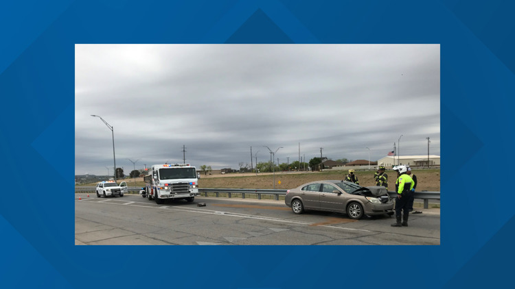 San Angelo PD responds to three-vehicle collision Wednesday afternoon