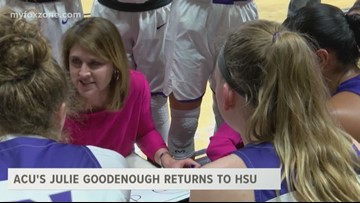 Coach Goodenough returns to HSU