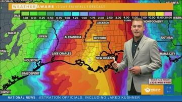 FORECAST: Dry and quiet in West Texas as Tropical Storm Barry moves into Louisiana