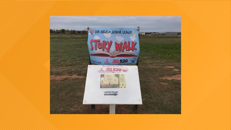 Organization aims to promote love of reading with Story Walk