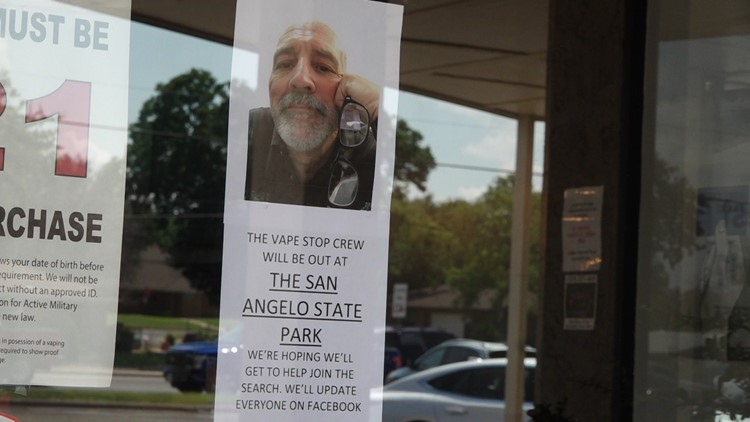 Missing San Angelo man found dead at state park