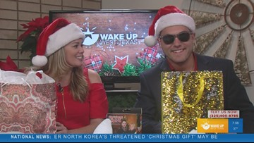 WAKE-UP WEST TEXAS: Gift exchange between Joe and Phoenix