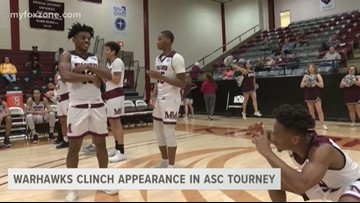 Warhawks clinch appearance in ASC Tourney