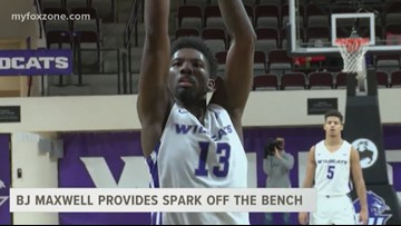 BJ Maxwell provides spark of the bench