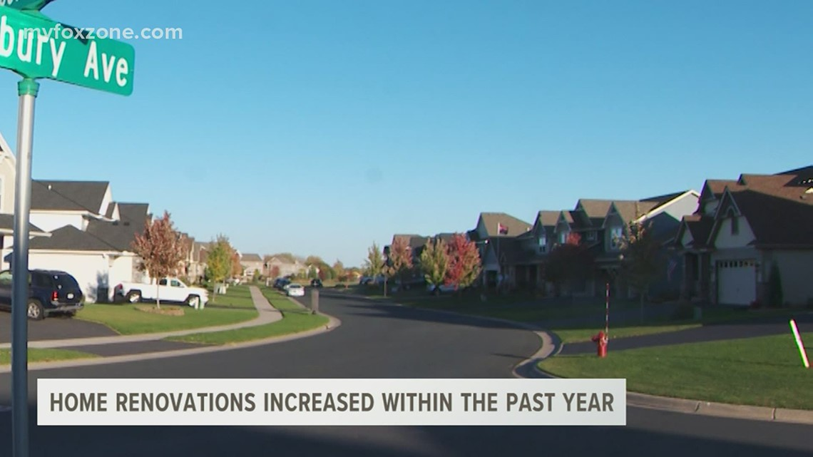 The home remodeling industry saw a jump in business this past year