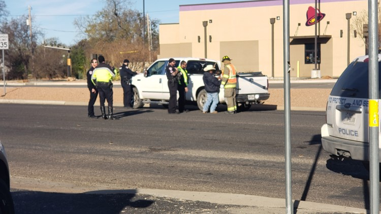 Two-vehicle collision at Bryant and 19th