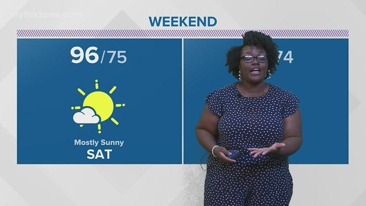 Thursday night forecast July 29, 2021