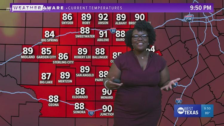 Monday night forecast July 26, 2021