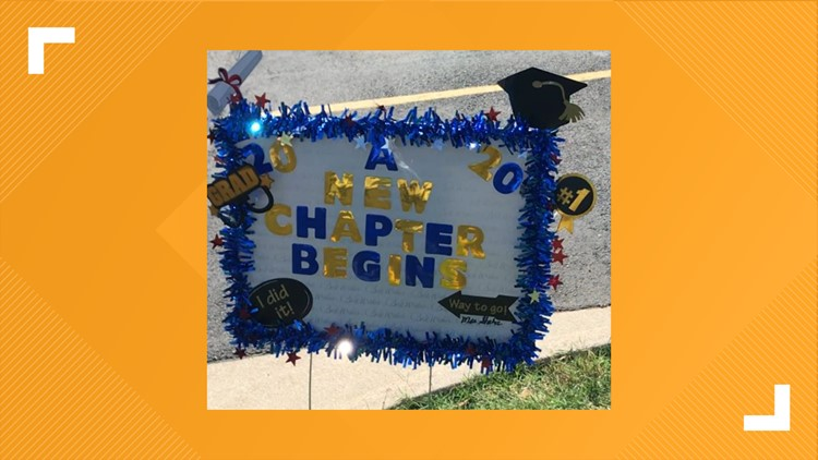 Lake View, Central high schools celebrate virtual graduation for Class of 2020