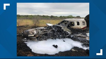 Plane leaving Mathis Field crashes near Stephens County Airport