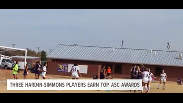 Three Hardin-Simmons players earn Top ASC awards
