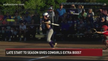 Late Start to Season is Giving Cowgirls Extra Boost