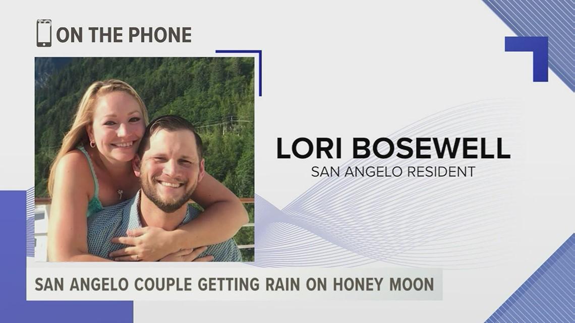 San Angelo newlyweds get rainy honeymoon in Rockport