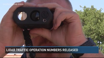 SAPD issues 71 citations, 10 warning in two LIDAR traffic enforcement operations Monday