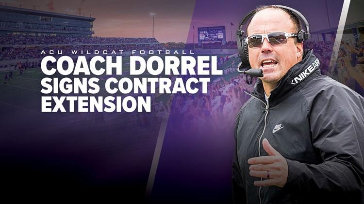 Adam Dorrel signs contract extension