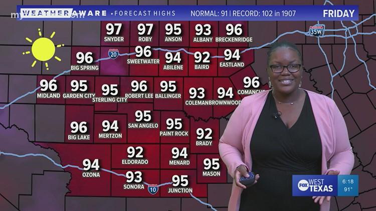Thursday evening forecast September 16, 2021