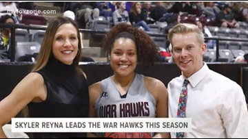 Senior Skyler Reyna leads the War Hawks this season