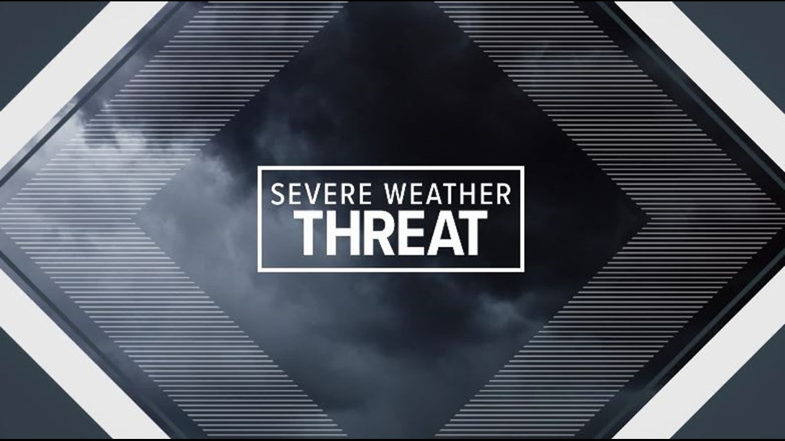 Strong to severe storms possible by Friday, lasting through Saturday