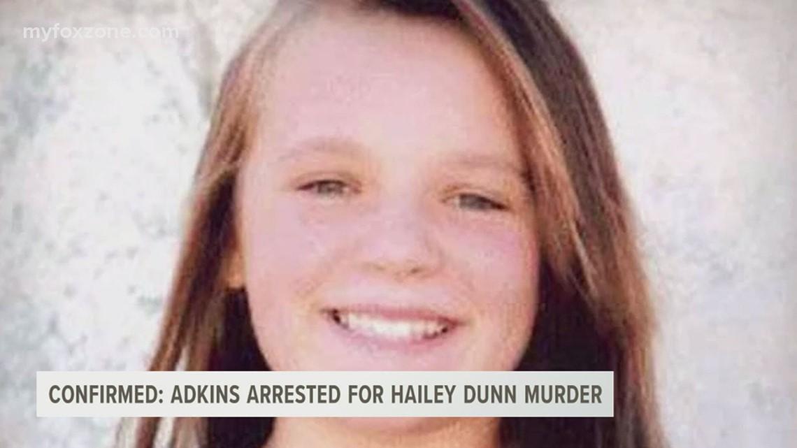 Texas Rangers confirm Shawn Adkins was arrested for Hailey Dunn's murder