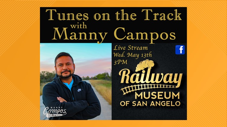 Manny Campos to perform 'Tunes on the Track' Wednesday