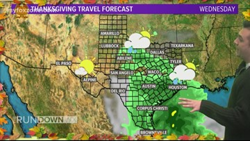 VIDEO FORECAST: No holiday travel issues in the state, weekend looks great to start