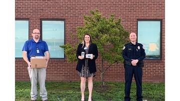 San Angelo PD donates mobile devices to SAISD