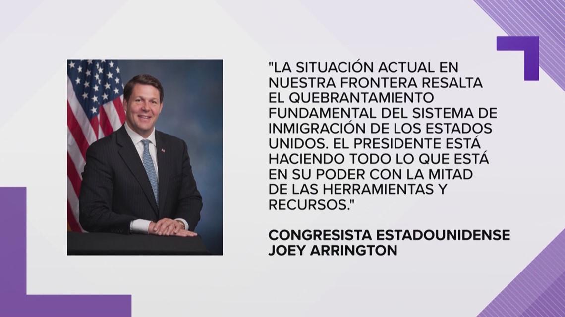 El alcalde de Abilene dice que el gobierno estadounidense a�n no le ha confirmado el uso de la base a�rea Dyess para albergar menores inmigrantes.