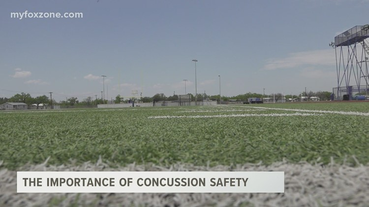Concussion safety protocol taken seriously for athletes in the Concho Valley