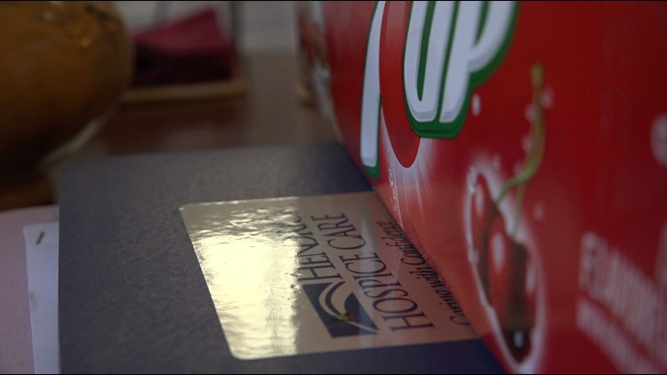 7UP has offered to provide an Abilene man with his dying with after hearing his story.