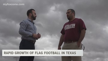 The growth of flag football in the Lone Star State