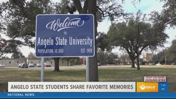 It's homecoming week at Angelo State and students are sharing their favorite memories