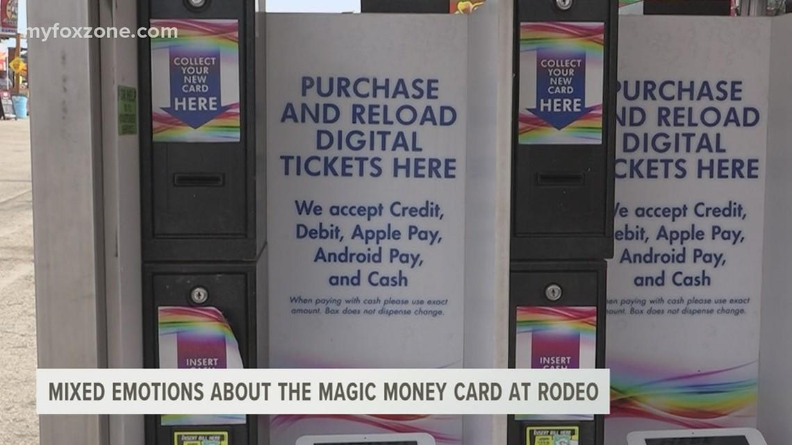 Magic Money card at the San Angelo Rodeo's carnival receives mixed reviews