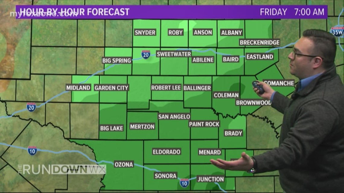 LOCAL FORECAST: Clouds continue to build ahead of next rain maker