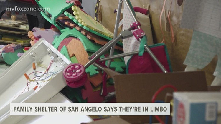 The Family Shelter of San Angelo said they are in limbo after Winter Storm Uri