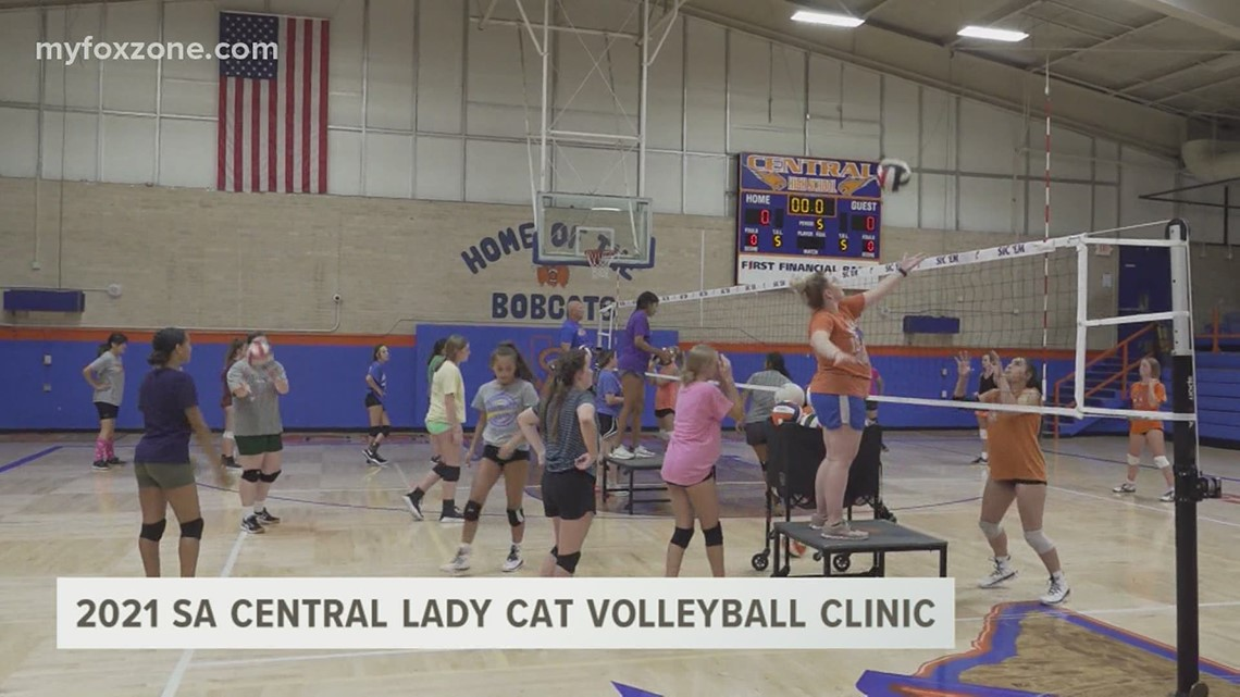 San Angelo Central High School volleyball team hosts 2021 Lady Cats Camp
