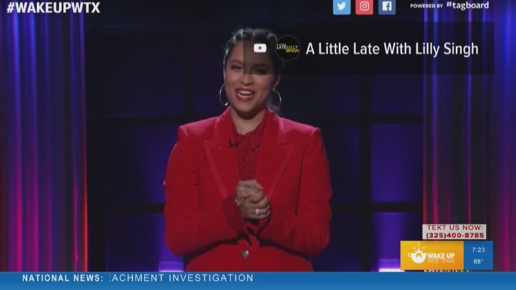 YouTube star makes history with new late-night talk show